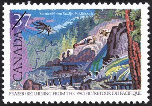 1988 37 Stamp Fraser Returning From The Pacific