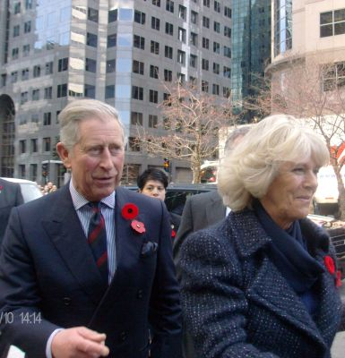 Prince Charles and Camilla in Montreal