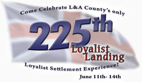 Bay of Quinte - Loyalist Settlement Experience 225